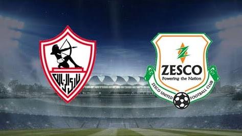 مشاهدة مباراة زيسكو يونايتد والزمالك بث مباشر بتاريخ 28-12-2019 دوري أبطال أفريقيا