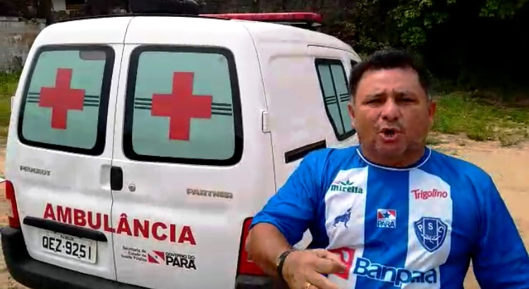 Ambulância 0 km doada ano passado para Óbidos jaz em  'cemitério' da cidade; vídeo