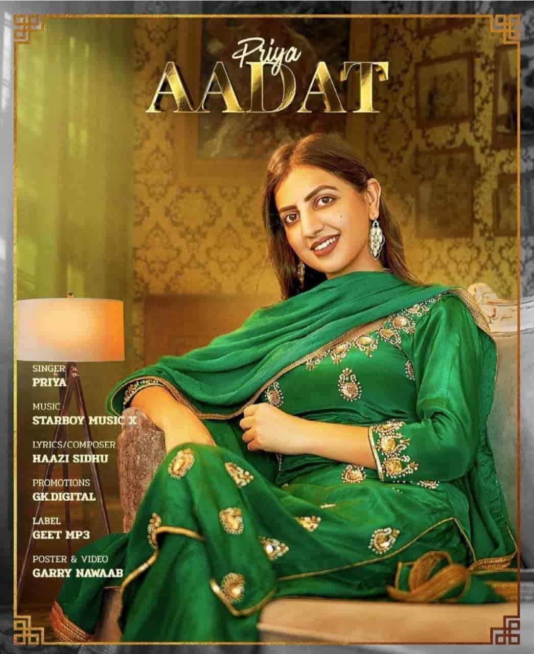 Aadat Punjabi Song Lyrics Priya