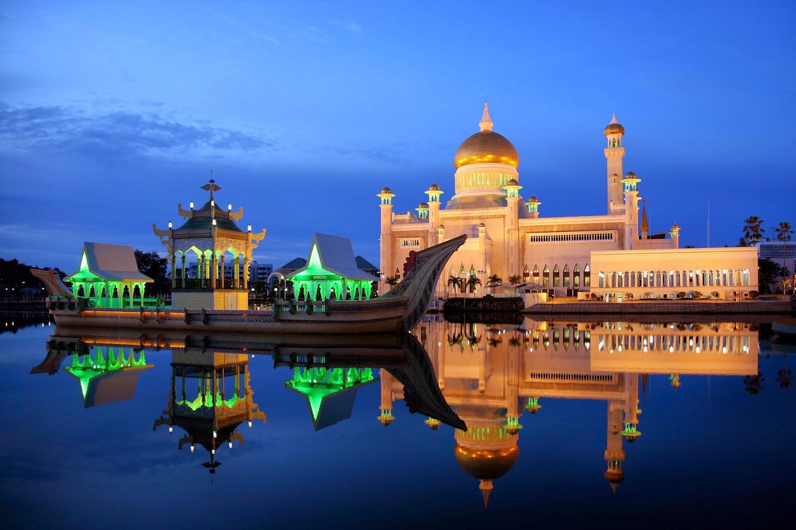 Tarunalautblogspotcom Masya Allah Ini Dia Gambaran Masjid