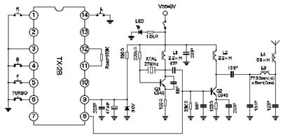 toy-car-remote-controller-circuit-diagram