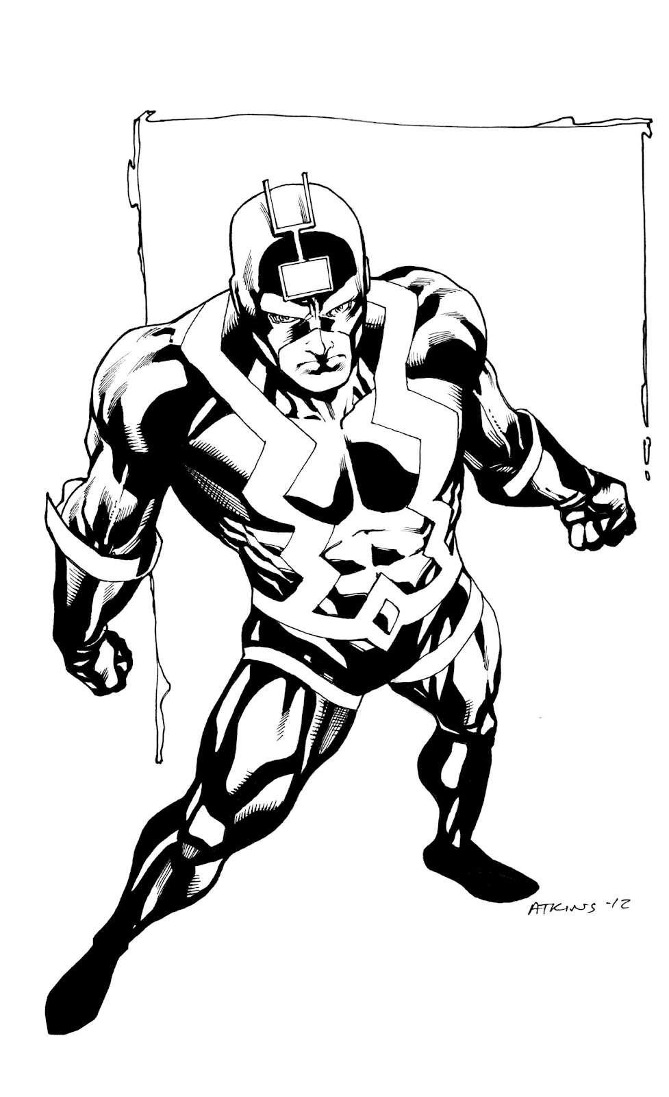 Robert Atkins Art: BlackBolt....