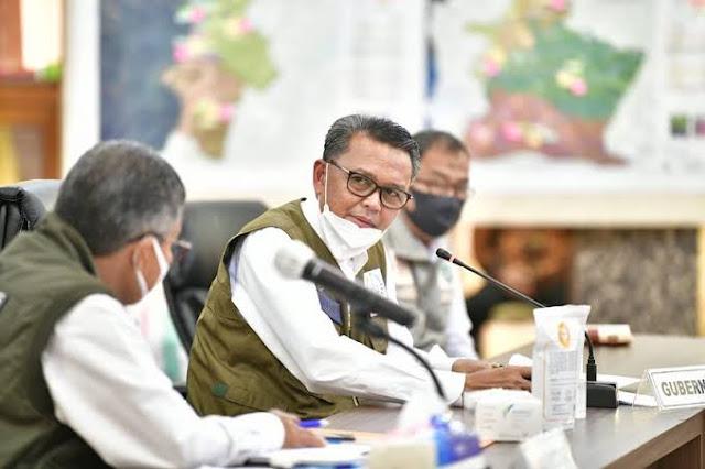 Gubernur: Sejumlah Kebijakan Pusat Kacaukan Skenario Daerah
