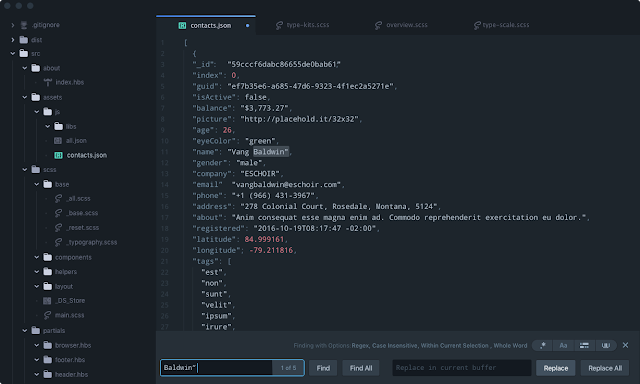 10 Free Text Editors That You Can Use For Programming! - Atom City Lights UI