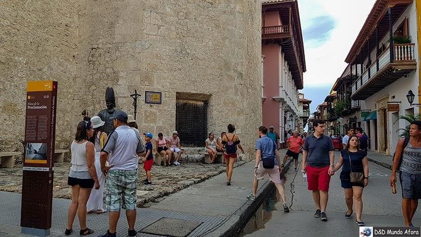 Plaza de la Proclamación - Diário de bordo: 4 dias em Cartagena