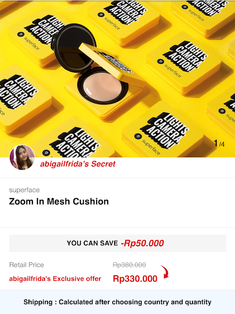 [Review] Superface Zoom In Mesh Cushion (Shade Natural)