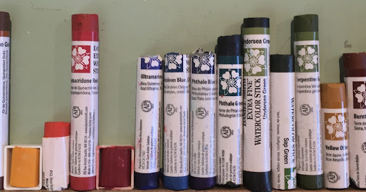 Watercolour Sticks from Daniel Smith