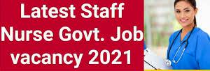 Govt nurse job 2021