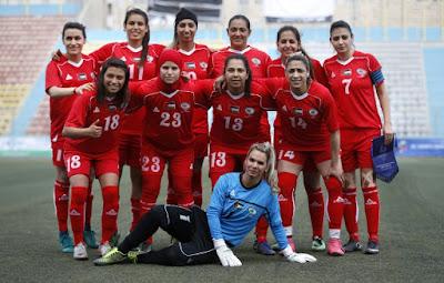 Le foot féminin palestinien, un