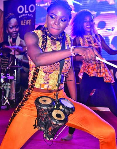 nigeria's first female bata drummer