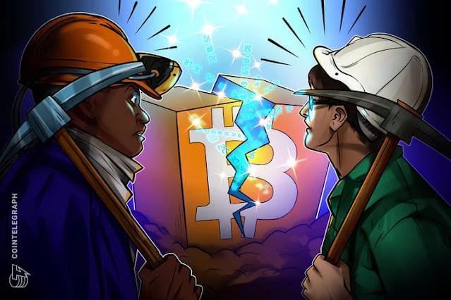 Bitcoin bán nhiều hơn so với số họ khai thác được