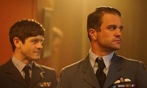 Iwan Rheon and Milo Gibson in RAF uniform