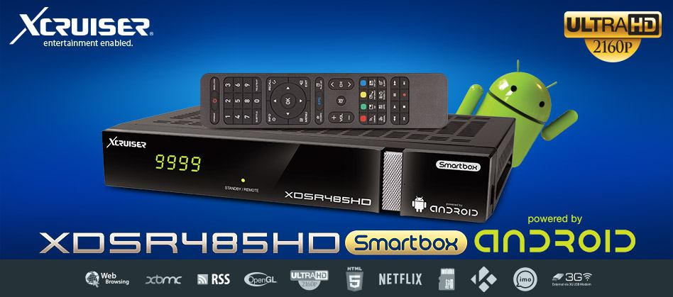 XCRUSIER XDSR485HD ANDROID: ONLINE PLUGIN DOWNLOAD SERVER FOR