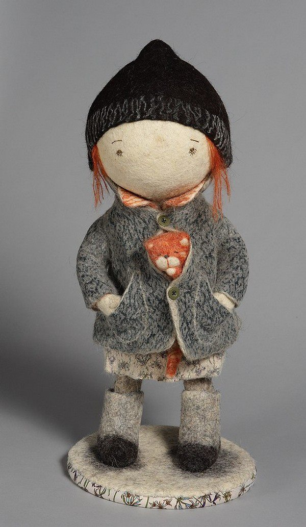 Direto da Rússia conheça esses encantadores bonecos de Feltro ... 47ecc561a8c