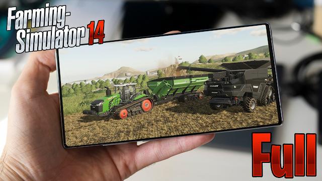 Farming Simulator 14 v1.4.4 (Full) Para Teléfonos Android [Apk]