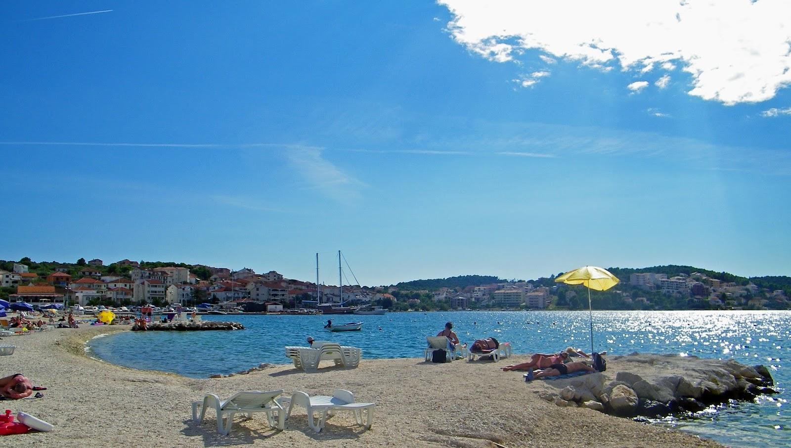 Wyspa Čiovo Trogir Chorwacja Wakacje Okrug Gornji