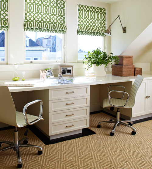 21 Shabby Chic Home Office Designs Decorating Ideas: Totally Gorgeous Vintage & Shabby Chic Home Office Studios