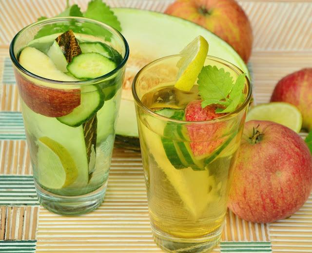 مشروبات ديتوكس سهلة الصنع لإنقاص الوزن