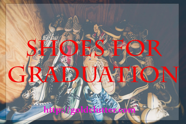 Shoes that are perfect for graduation.