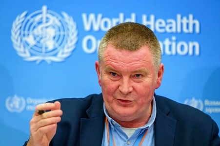 The corrupt, Executive-Director of WHO, Dr. Michael Ryan