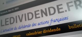 actions detachement dividende mai 2021