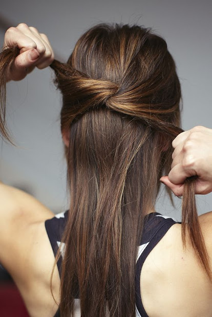 wonderful knot hairstyles