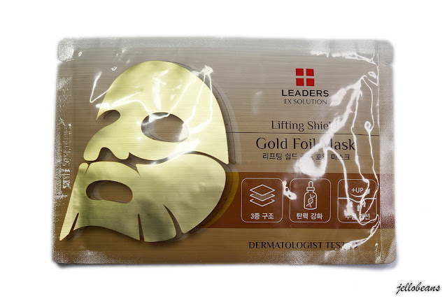 Leaders Lifting Shield Gold Foil Mask
