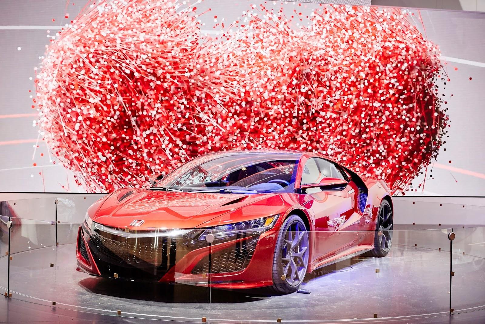 61186 Honda NSX at Frankfurt Motor Show 2015 Η Honda θα παρουσιάσει το S660, ενα λιλιπούτειο διθέσιο roadster με 63 άλογα από μολις 658 κ.εκ