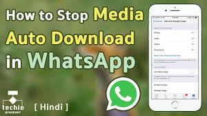 HOW TO DISABLE AUTOMATIC WHATSAPP DOWNLOAD