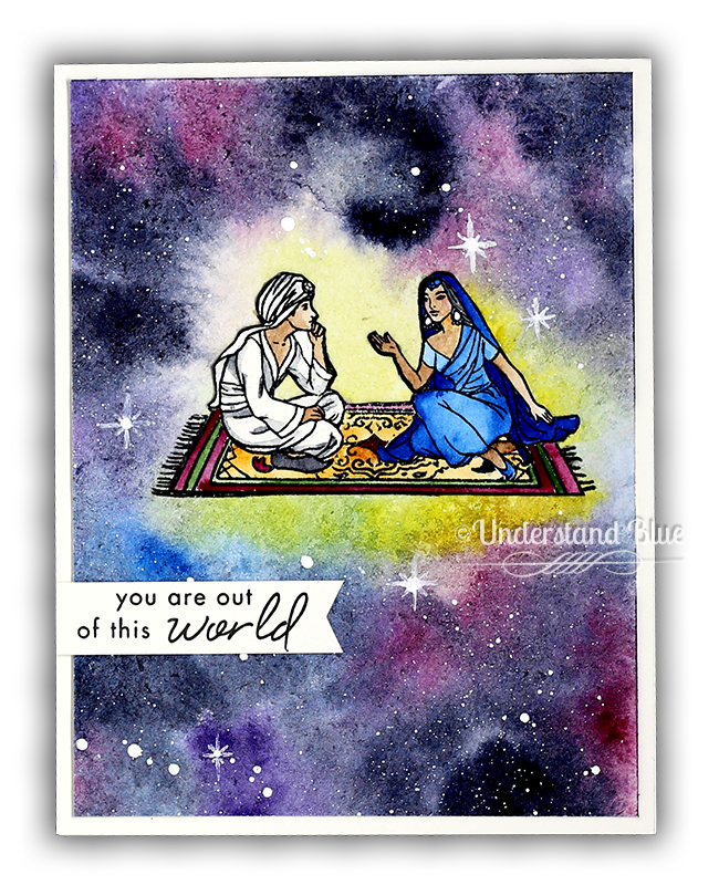 Flying Carpet Card by Understand Blue