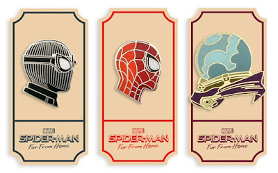 Spider-Man: Far From Home Movie Portrait Enamel Pin Series by Matt Taylor x Mondo