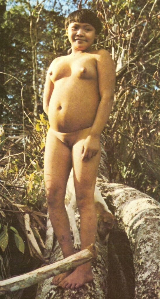 nude xingu tribal girls