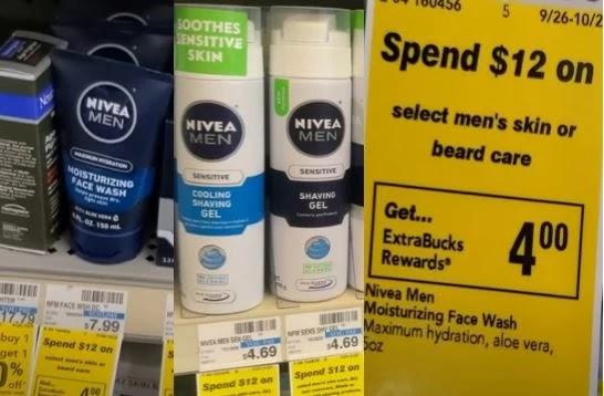 Nivea Men's Shave Gel CVS Deal 9/26-10/2