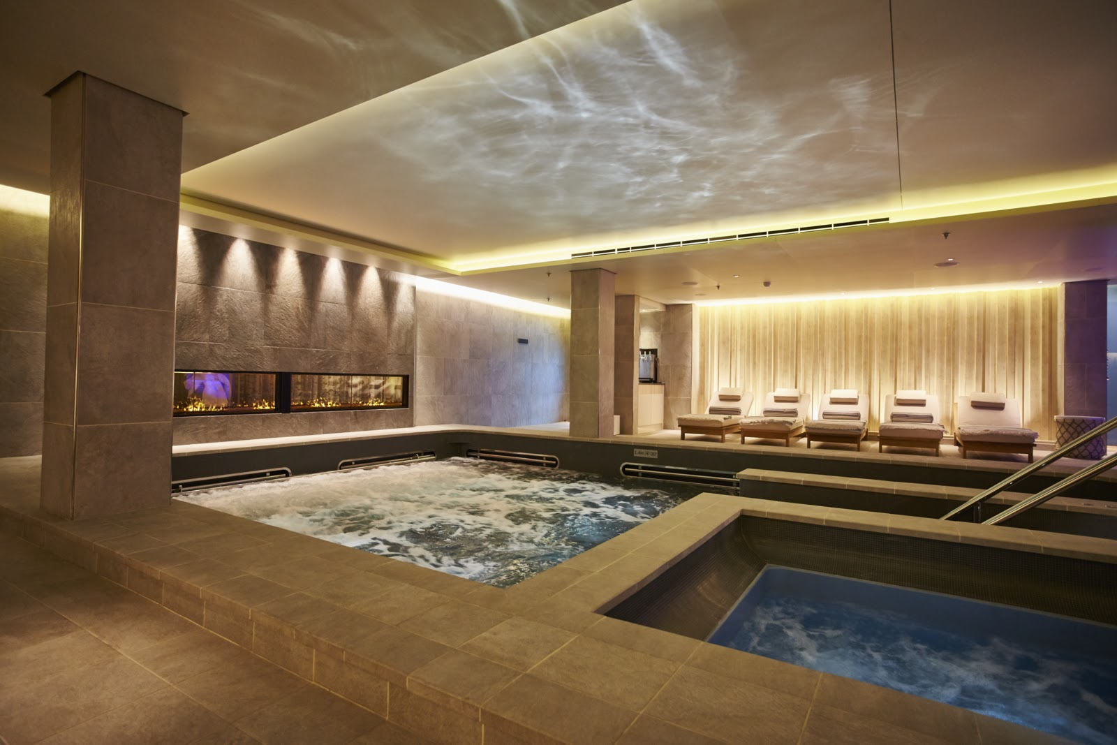 Welcome to rejuvenation at its best—Liv Nordic Spa. Photo: © Viking Cruises. Unauthorized use is prohibited.
