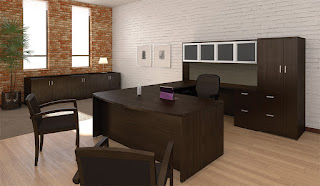 Cherryman Amber Desk Layout