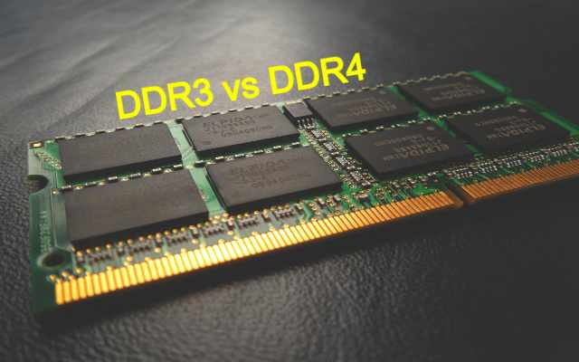 DDR3 vs DDR4 RAM - The difference between DDR3 and DDR4 RAM