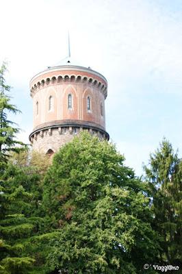 La torre idrica della città di Colmar