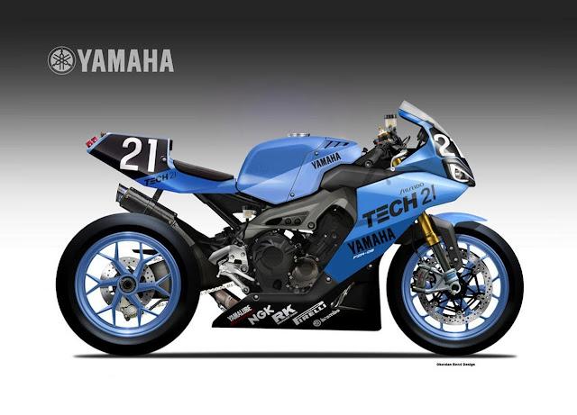 Shiseido Tech 21 Yamaha YZR-09 Endurance Concept by Oberdan Bezzi