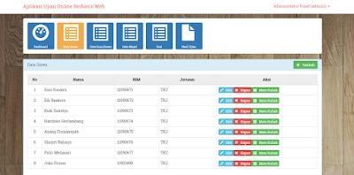 Sourcode Aplikasi Ujian Online