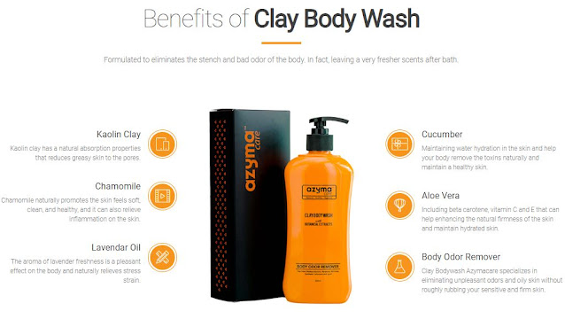 Benefits Of Clay Body Wash