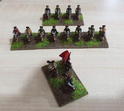 Pendraken Miniatures  RP7 Cossack cavalry picture 1