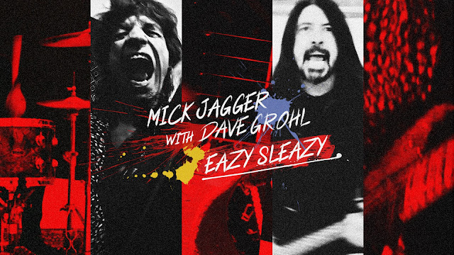 Mick Jagger and Dave Grohl record a Eazy Sleazy together
