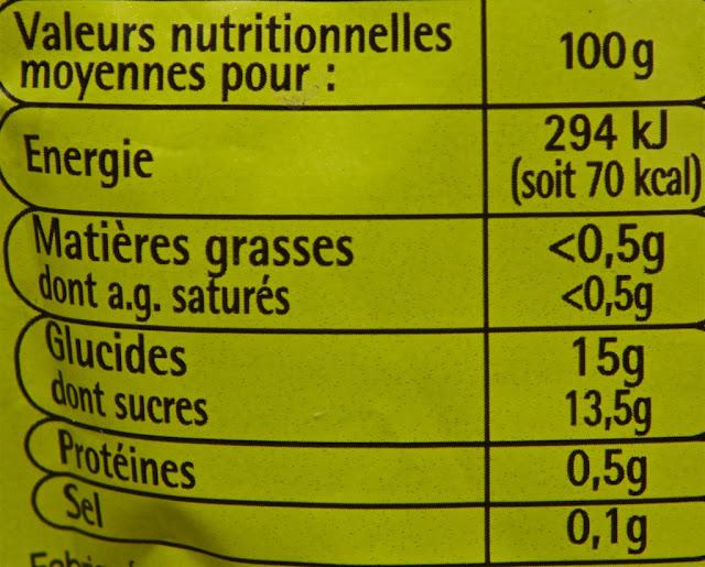 Compote de pommes allégée en sucres Pouce - Auchan - dessert - gourde compote