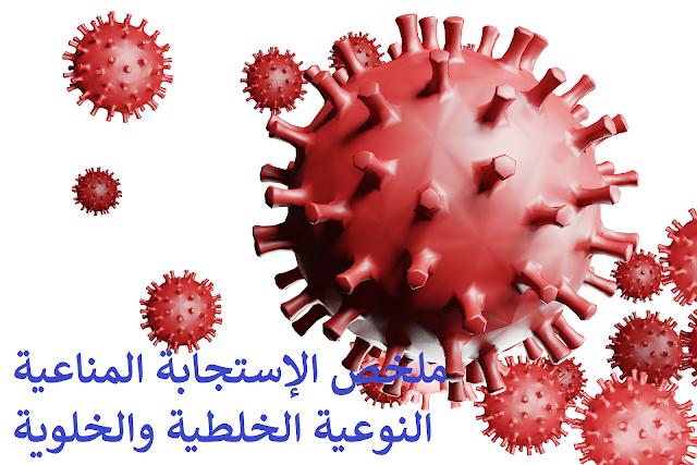 ملخص الإستجابة المناعية النوعية