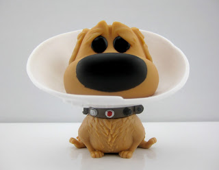 sdcc dug with cone of shame funko