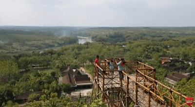 Tempat Wisata Bukit Kerek Indah Kota Ngawi