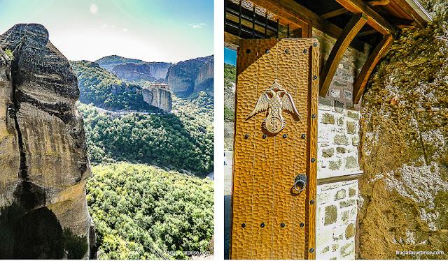 Mosteiro de Varlaam, em Meteora, Grécia
