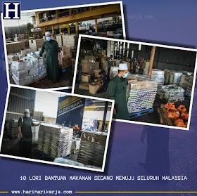 Ebit Lew : Sebanyak 10 Lori Bantuan Makanan Menuju Seluruh Malaysia