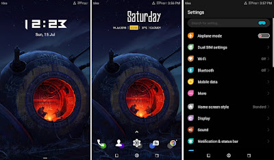 Download Huawei Themes : Dark Ories Theme For EMUI 5 / 8