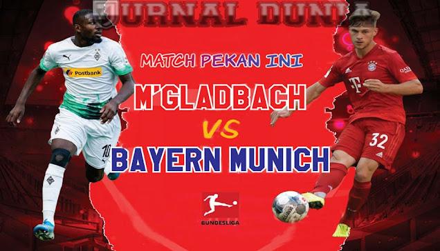Prediksi Borussia Monchengladbach vs Bayern Munich